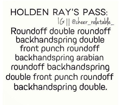 Holden Ray is such an incredible cheerleader!