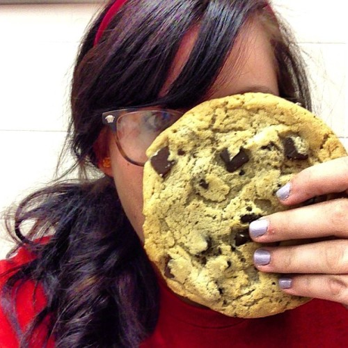 Cookie as big as my face free from target because I'm good at my job sometimes.  (at Target)