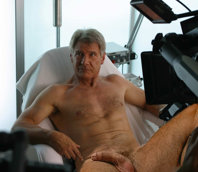 harrison ford naked