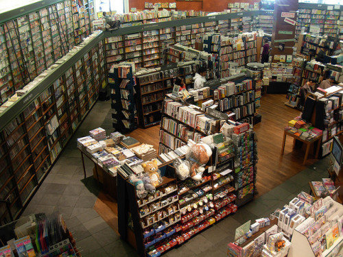 seattle-wa:  Kinokuniya Book Store -Seattle International District by brewbooks on Flickr. Via Flickr:Kinokuniya Book Store