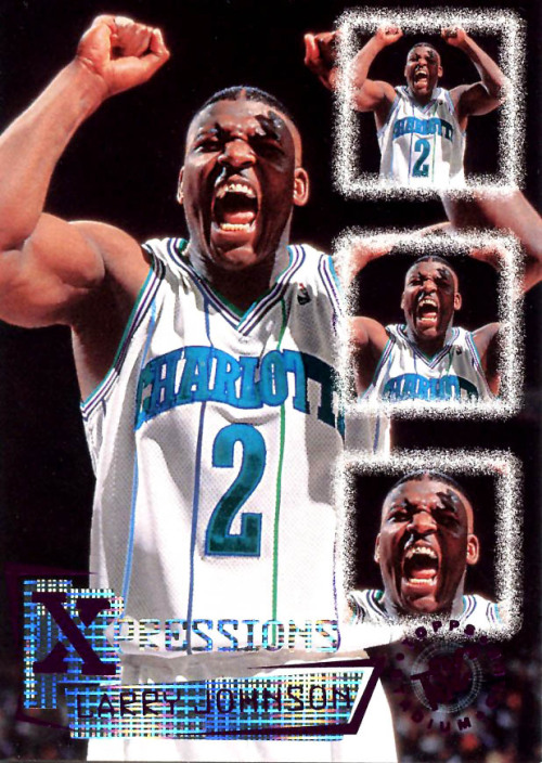 fatshawnkemp:  The Hornets are back in Charlotte!  LJ is excited.