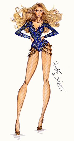 haydenwilliamsillustrations:  Beyoncé Mrs. Carter World Tour collection by Hayden Williams: pt3