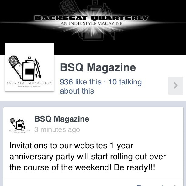 Hey guys when you get time stop by our Fan Page and hit that like button! #SupportTheMovement #TeamBSQ