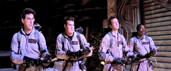 "I take my Ghostbusters quite seriously… Winston Zeddemore: Hey Ray. Do you believe in God? Dr Ray Stantz: Never met him. Winston Zeddemore: Yeah, well, I do. And I love Jesus's style, you know…  Hey Ray. Do you remember something in the bible about the last days when the dead would rise from the grave? Dr Ray Stantz: I remember Revelations 7:12…?And I looked, and he opened the sixth seal, and behold, there was a great earthquake. And the sun became as black as sack cloth, and the moon became as blood."" Winston Zeddemore: ""And the seas boiled and the skies fell."" Dr Ray Stantz: Judgment day. Winston Zeddemore: Judgment day. Dr Ray Stantz: Every ancient religion has its own myth about the end of the world. Winston Zeddemore: Myth? Ray, has it ever occurred to you that maybe the reason we've been so busy lately is 'cause the dead HAVE been rising from the grave? Dr Ray Stantz: [Pause ] How 'bout a little music? Winston Zeddemore: Yeah."
