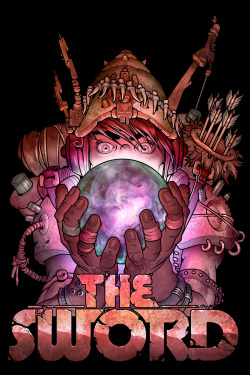 My first T-shirt design for the awesome band The Sword! Art by Mike Faille http://mikefaille.com/