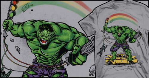 http://www.threadless.com/Hulk/rage-5/ http://www.threadless.com/Hulk/drbanner-and-mrhulk-3/ http://www.threadless.com/Hulk/beginning-3/ http://www.threadless.com/Hulk/no-barriers/ http://www.threadless.com/Hulk/i-just-want-to-make-a-rainbow/ http://www.threadless.com/Hulk/inside-2/ http://www.threadless.com/Hulk/puny-page-panel-rage/  All 7 Hulk designs are up for scoring at Threadless, so if You like it gimme a hand. Thanks!