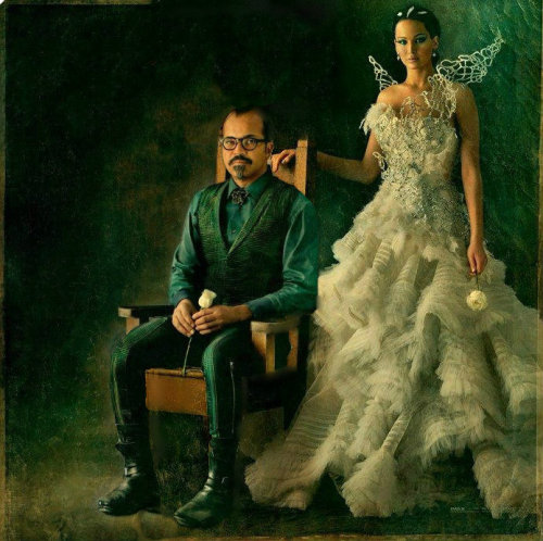 Tributes of the 75th Annual Hunger Games Beetee & Katniss