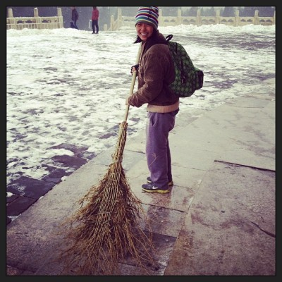 Potential job #3? (at 天坛 Temple of Heaven)