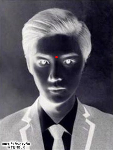 1. Stare at the red dot for 30 seconds. Note: Don't blink :D2. Then, look somewhere else and start blinking fast. Note: Look at something that is white :DAwesome isn't it? ♥