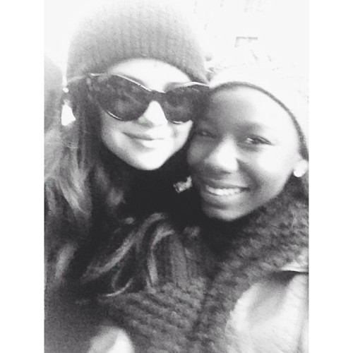 selgomez-news:   @BieberGomezTour just met the bae selenagonez again love her to death!