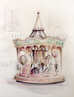 all-things-bright-and-beyootiful:  Carousel by Katie Rodgers