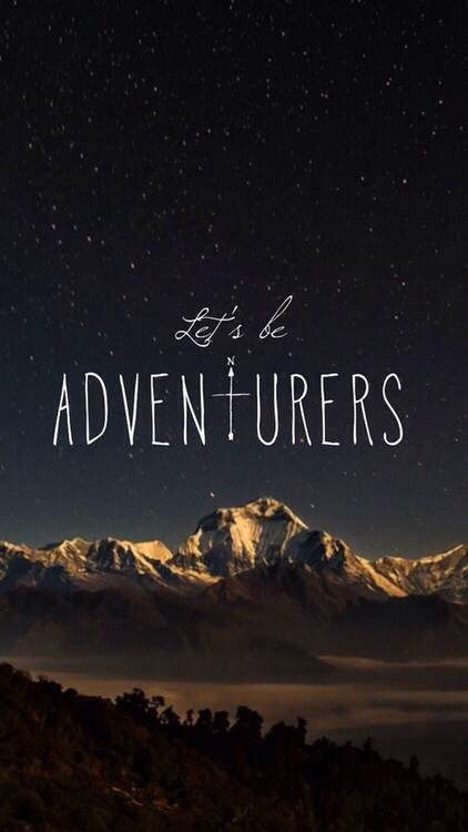 adventure quote on Tum... Adventure Quotes Wallpaper