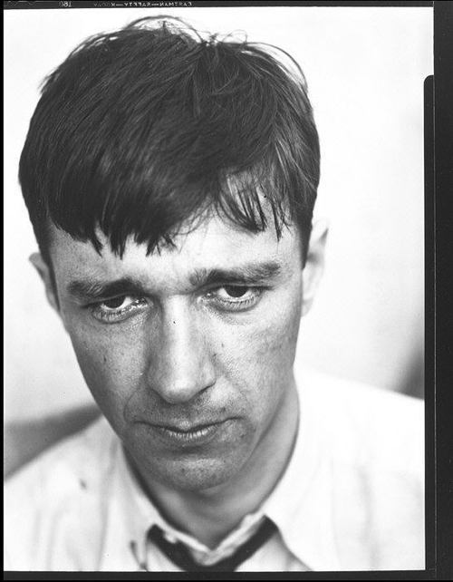 walker evans self-portrait