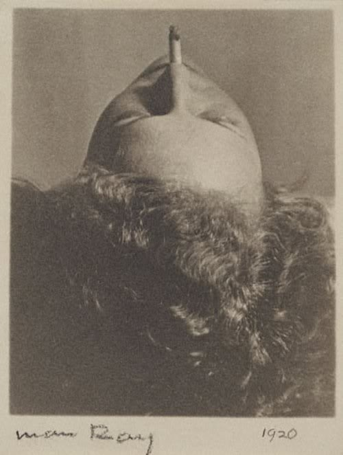 verlaineandrimbaud:  Woman Smoking Cigarette, 1920.