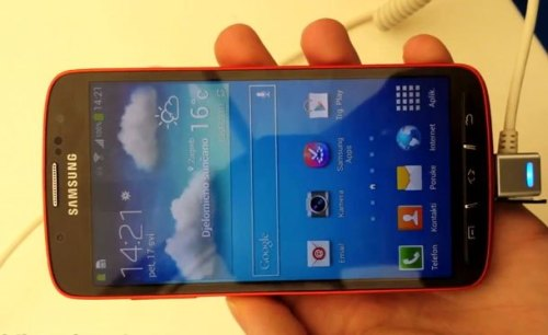 xantarmob:  Samsung Galaxy S4 Active hands-on VIDEO  Dopo le foto di ieri… E' tempo di un veloce hands-on per l'attesa variante del Galaxy S4!(more…)  View Post