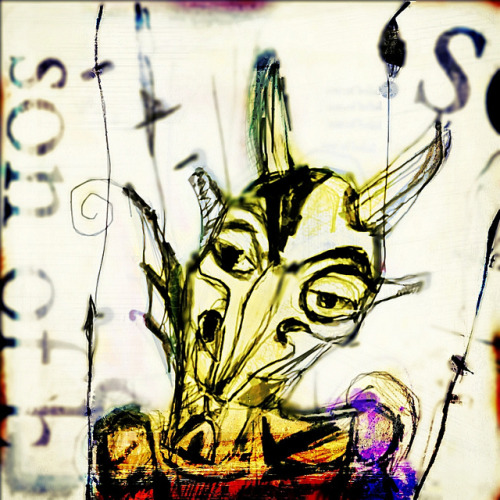 sons of belial on Flickr. ® 2013 #art #artists #athensga. #wacom #watercolor #drawings #paintings #folkart #illustration