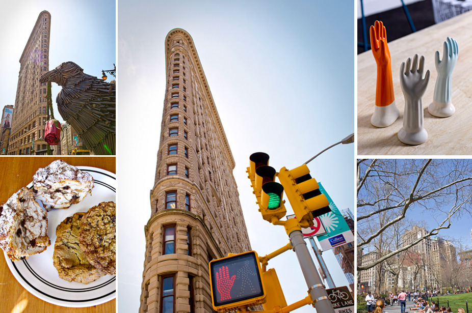 NYC HOOD BY HOOD: Flatiron. Buffers between Midtown and Downtown, grownup Flatiron is all gourmet dining and iconic architecture, while newly coined Nomad is luring a hip set above 14th street with knockout hotels and emerging indie boutiques. Check it out in our exclusive iPad New York City Hood by Hood feature.