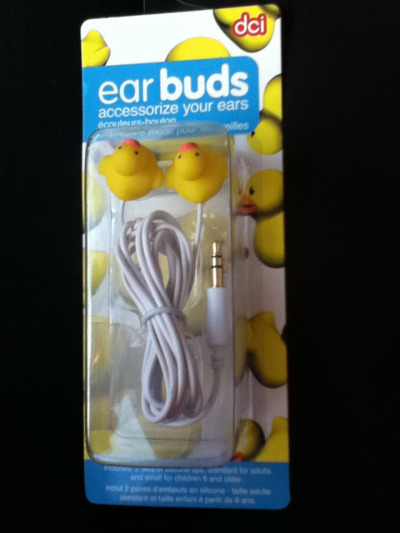 Duck Earbuds »»> ducksarecute