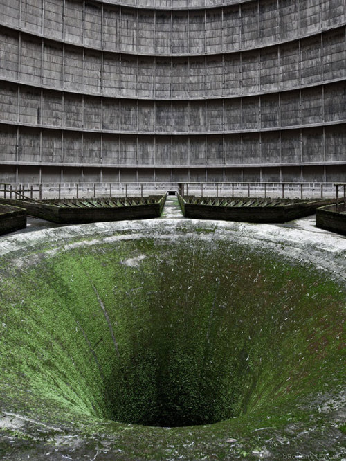 abandoned construction site of a nuclear power plant