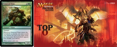 Magic: the Gathering On Monday, the mothersite revealed the 2013 Grand Prix schedule as well as the participation promo, Primeval Titan, which would be available during the first half of the season. Make Top 8, and you'll aslo score this sweet Boros-themed playmat.