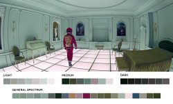 ephe:  Stanley Kubrick Week2001: A Space Odyssey, 1968Cinematography: Geoffrey Unsworth