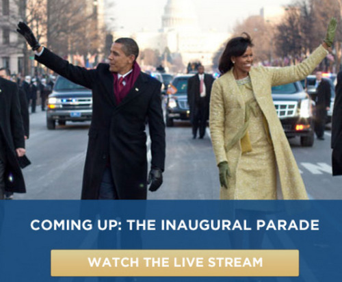 Watch Live: Inaugural Parade