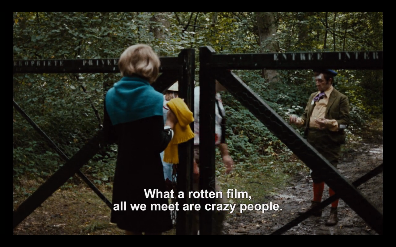 Weekend (1967), dir. Jean-Luc Godard
