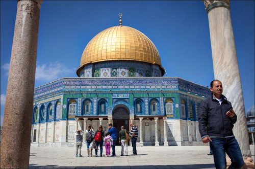 Dome of the Rock Jerusalem, Israel March 25th, 2013