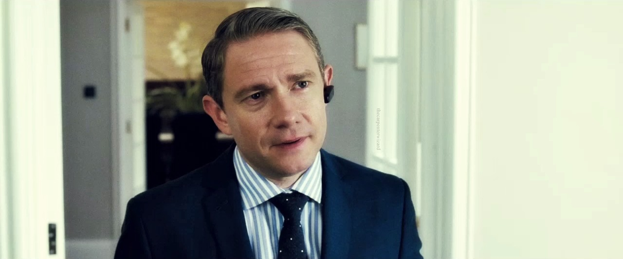 thecarpenterwizard:  Martin Freeman | The World's End  DEFINITELY WATCH Simon Pegg, Nick Frost, Edgar Wright, Martin freeman—