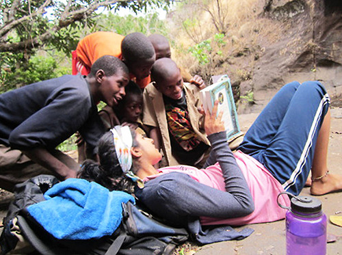 "peacecorps:  Did you know March is National Reading Month?Reading is definitely one of the more popular leisure activities for Peace Corps Volunteers. What were some of the books you read during your service? Did you bring home any books from your country? How many times did you read War and Peace during your 27 months overseas?  I read SO MUCH when I was in Peace Corps. My mom sent me a big box of books by book bag, and I raided the PC library in the basement of the PC office every time I was in Sofia. I kept track so I know that I read about 150 books during my service (80+ my first year, 60+ my second year). Some of my favorites I read in country: How to Be Good & Fever Pitch, Nick Hornby Deep Secret & The Merlin Conspiracy, Diana Wynne Jones Cryptonomicon & The Baroque Cycle, Neil Stephenson The Years of Rice and Salt, Kim Stanley Robinson The Moor's Last Sigh, Salman Rushdie Harry Potter #7, which I bought on Amazon and impatiently waited 2 weeks to arrive. The Count of Monte Cristo, Dumas I also read a lot of history books, about the Balkans and Eastern Europe, but also about a lot of other places and things as well. I read a couple books in Bulgarian: Harry Potter #3 and a collection of all of the Winnie the Pooh books (or Мечо Пух, as he is called in Bulgarian). The latter was by far the more difficult, which surprised me. Harry Potter has a lot of dialogue, which tends to be written at the same level of discourse I heard on a daily basis. Winnie the Pooh, on the other hand, has long narrative descriptions about what the sunlight looks like as it streams through the branches of the trees, etc. I was constantly looking up words that would turn out to be ""thistles"" or ""meandering"" or something like that."