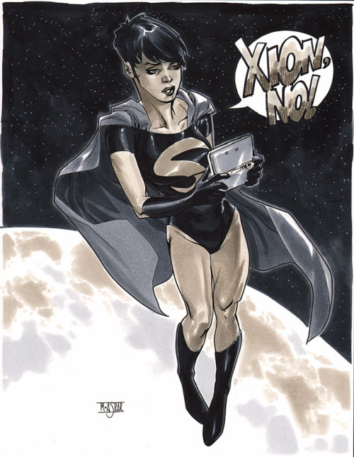 Supergirl Cir-El - NYCC 2012 Pre-Show Commission