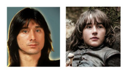 I discovered something last night… The Stark boy will become Steve Perry