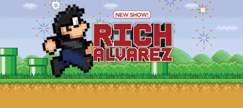 Welcome Rich Alvarez to the Revision3 family! The Rich Alvarez show contains a variety of live action video game shorts, comedy sketches, and music video parodies. Tune in for a fun twist on all your favorite video games every week.