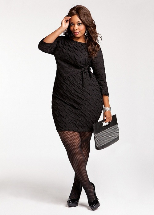 penetralia:  (via Ashley Stewart: Lurex Embellished Dress)