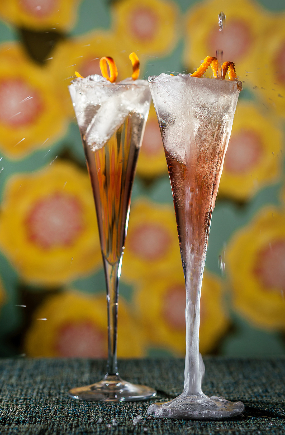 Lillet Champagne Cocktail- Gourmet: January 1979
