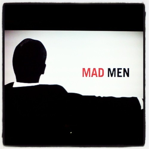 Mad Men to finish off the long night #firstinstagram #madmen #DonDraper #60s