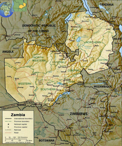 rappcats:  Zambia. Only country in the world shaped like the Wu Tang logo.
