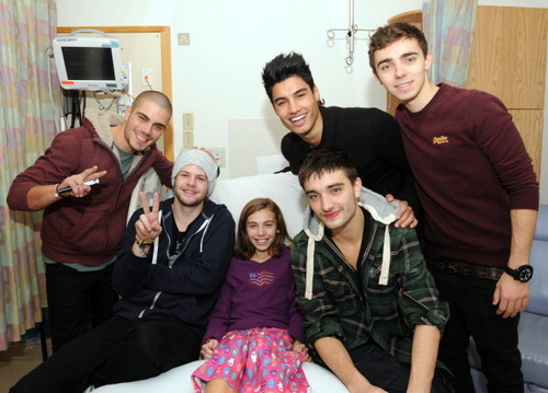 thewantedarefromheaven:  The Wanted at the Boston Children's Hospital on December 6th :)