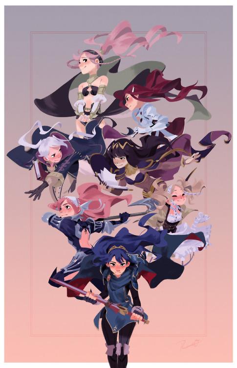fire emblem fire embem awakening awakening nintendo anime Anime North video games art Illustration Fanart 3ds photoshop fire emblem heroes