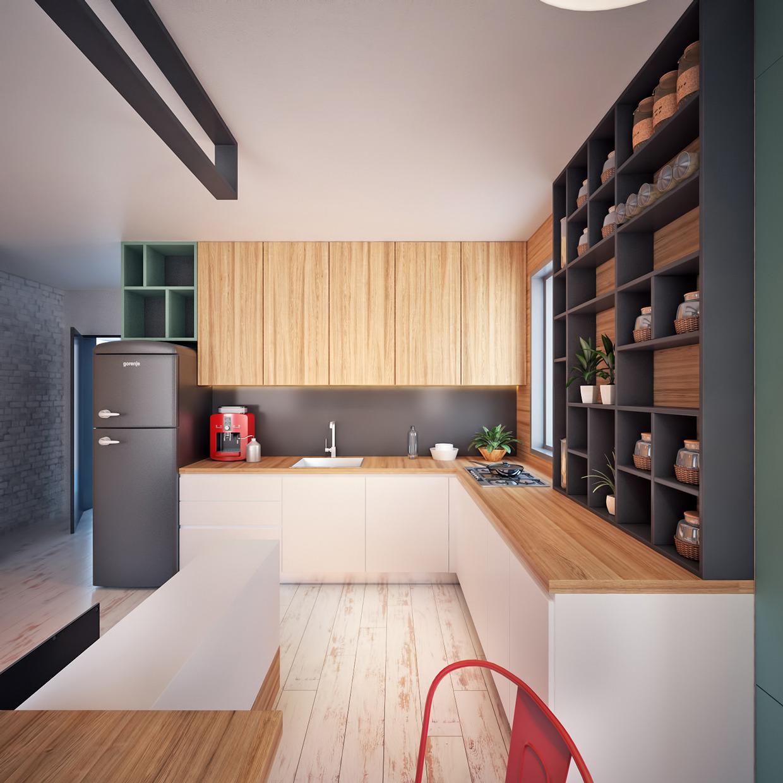 The design blog design inspiration for 35m2 apartment design
