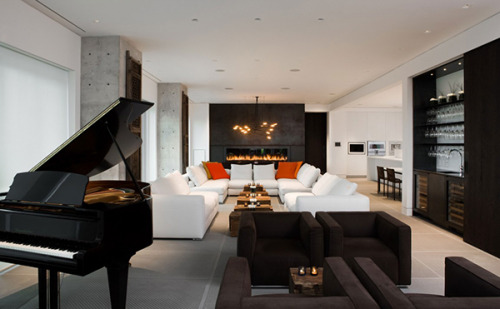 freshome:  Comfortable And Warm Penthouse In Toronto By Ceccone Simoni Inc