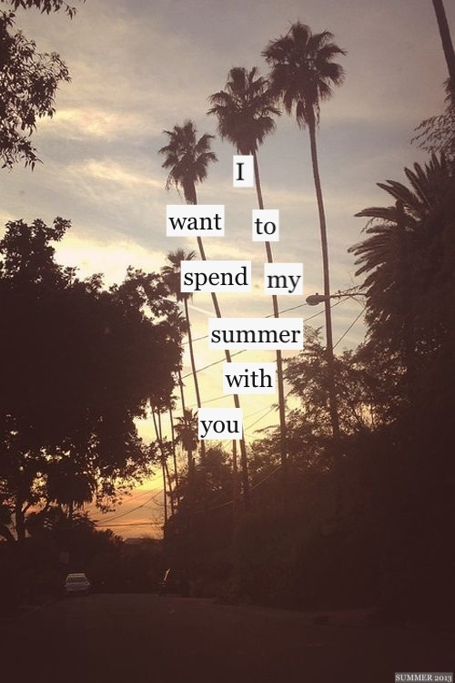 drop-the-bullshit-kid:  Summer Love ☀ | via Tumblr on We Heart It. http://weheartit.com/entry/61928463/via/rollercoastermind