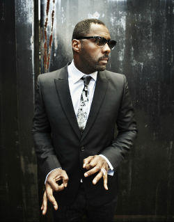 johnandmario:  Actor Idris Elba