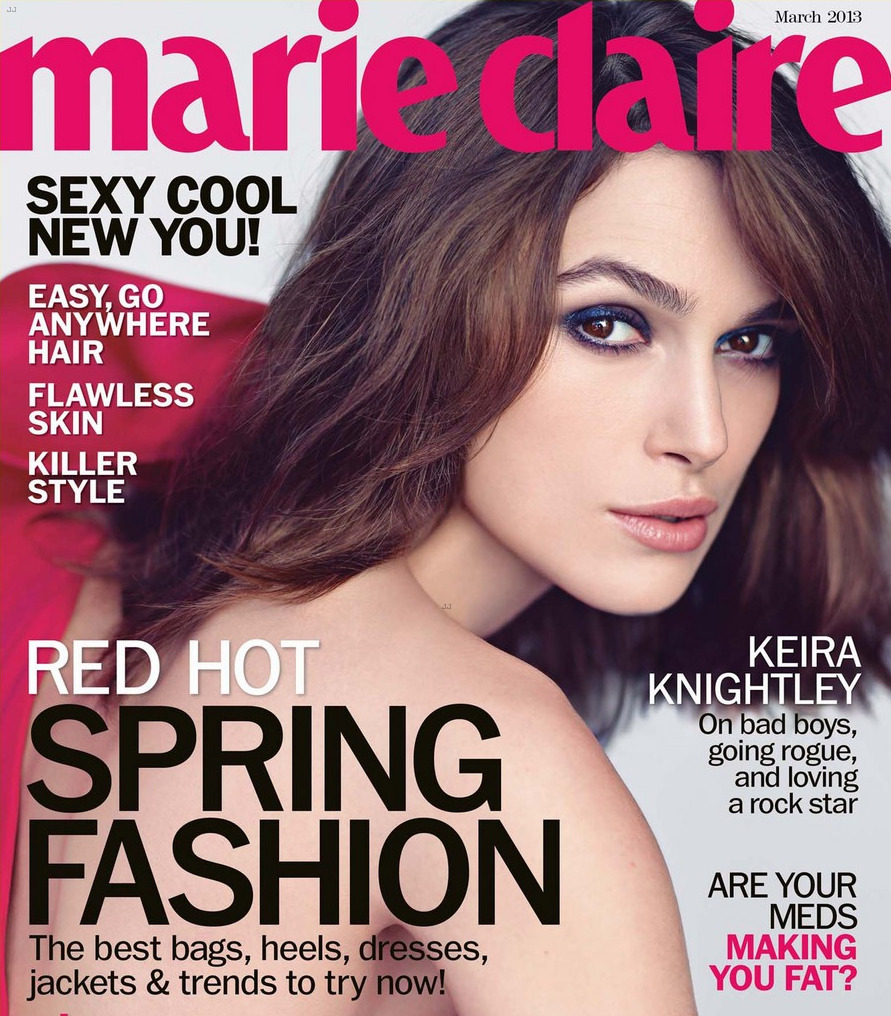 Keira Knightley - Marie Claire (march 2013)