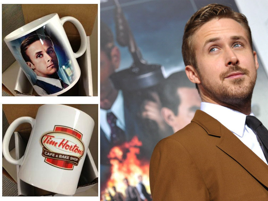 nparts:  Tim Hortons made Ryan Gosling his very own mug We talked to the woman who inspired the whole project — and who got a Gosler Goblet of her own. Read the interview here: natpo.st/1458ibR