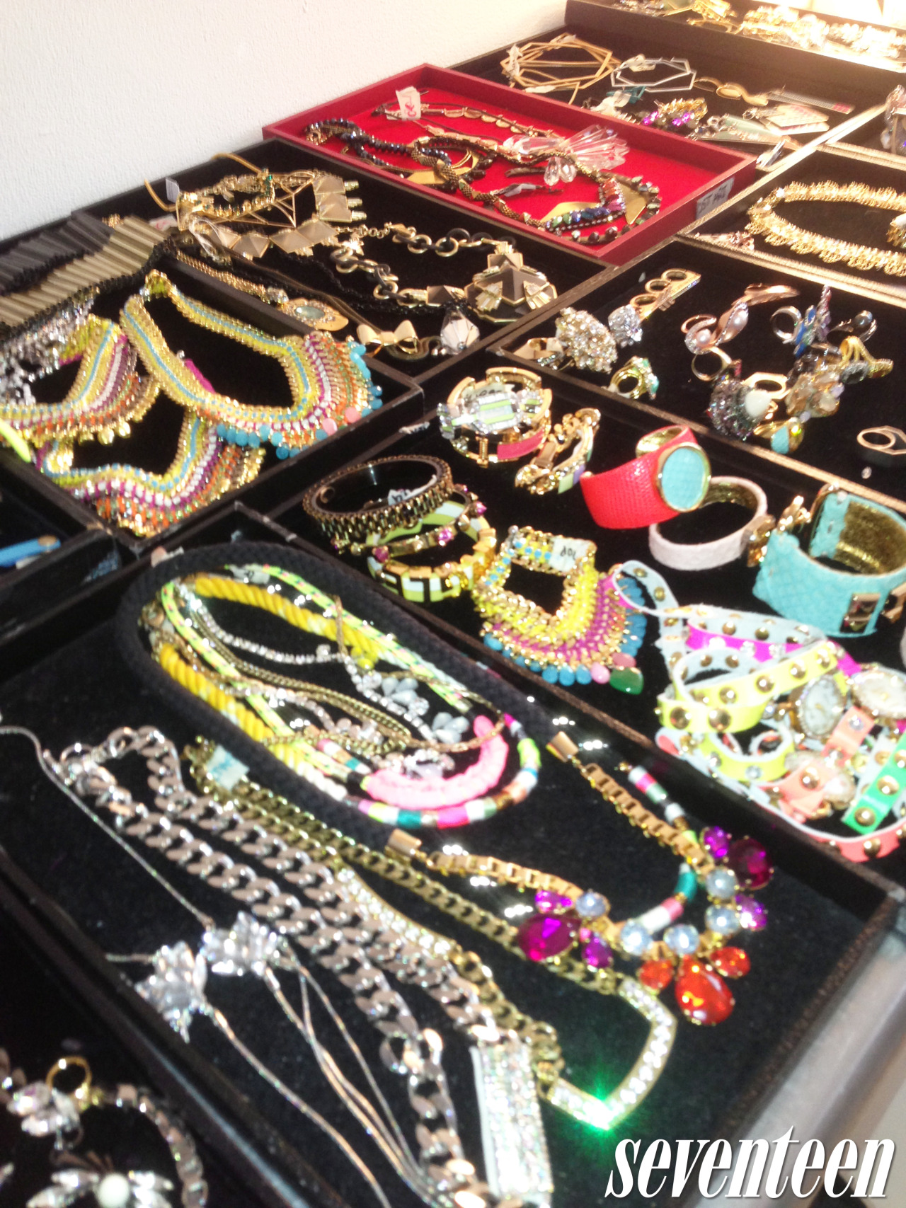 Jewelry at the Carly Rae Jepsen March cover shoot!