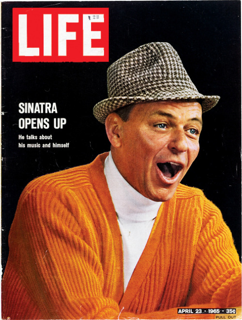 life:  On this day in LIFE — April 23, 1965: Sinatra Opens Up.