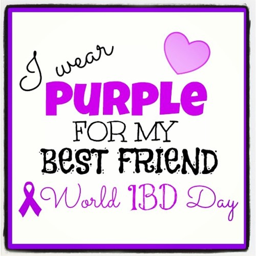 Today, May 19th is World IBD Day! I already knew this on my own because my best friend in the entire world, Kelly, suffers from IBD and other chronic illnesses. When someone you care about goes through something so debilitating, it hurts you too. She means the world to me, and is like a sister. She's family, and it's hard seeing someone you love so much suffering. So please, SPEAK OUT! Raise your voice! BE HEARD! Spread awareness for IBD, because it's not easy, and more people need to know about it. <3  I love you Kelly! This post is also for all my other spoonies/chronic illness fighter friends, whom I am so blessed to have met! I love you all and care about you all so much! STAY TOUGH AND KEEP FIGHTING! You CAN do this!!