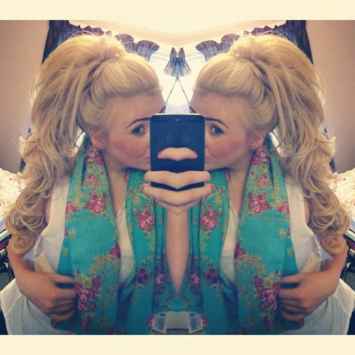 Gypsy Queen #longhair #extensions #blonde #girl #me #twins #curly
