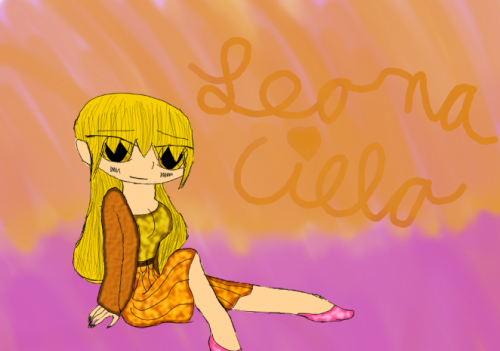 Welp I drew a good picture yay Here's Leona Cielo (Leon's GB) and look how pretty she is. seriously. Kaliente you are a lucky man. But It took forever for me to finally be satisfied with the sketch and then more time for me to be happy with the colors. I still think her skin is a little bit too dark but oh well. Leona is actually one of my favorite characters to draw.